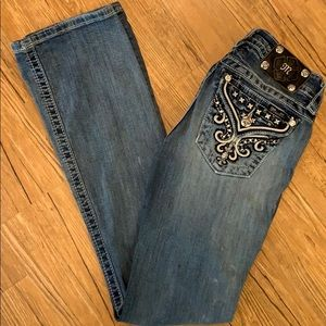 Miss Me bootcut mid rise stretch jeans